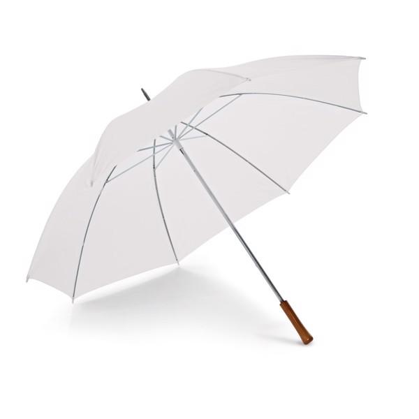 ROBERTO. Paraguas de golf - Blanco