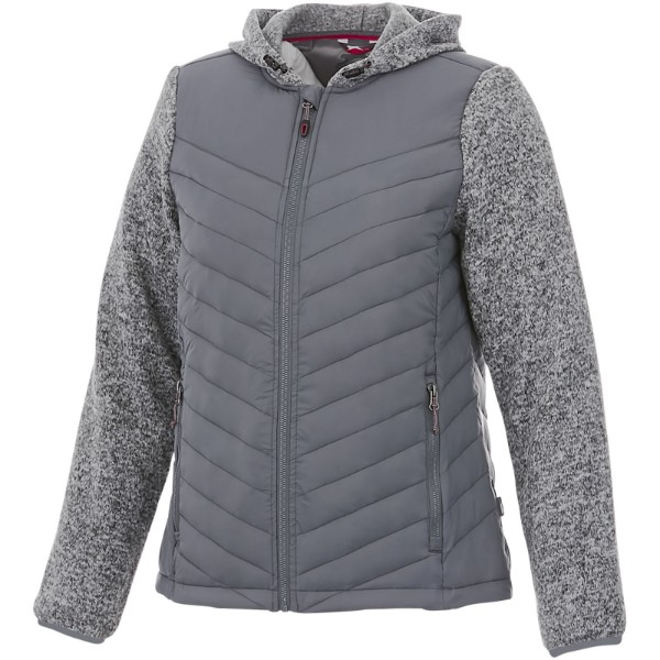 Hutch women's hybrid insulated jacket - Grey / XL