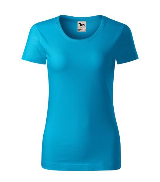 T-shirt women's Malfini Origin - Blue Atoll / 2XL