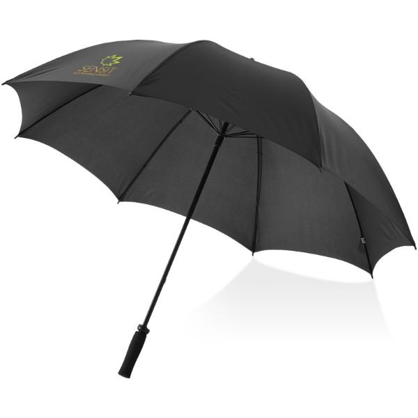 """30"""" golfový deštník Yfke s držadlem z materiálu EVA - Černá"""