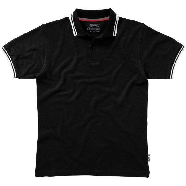 Pánská polokošile Deuce s lemem - Černá / XL