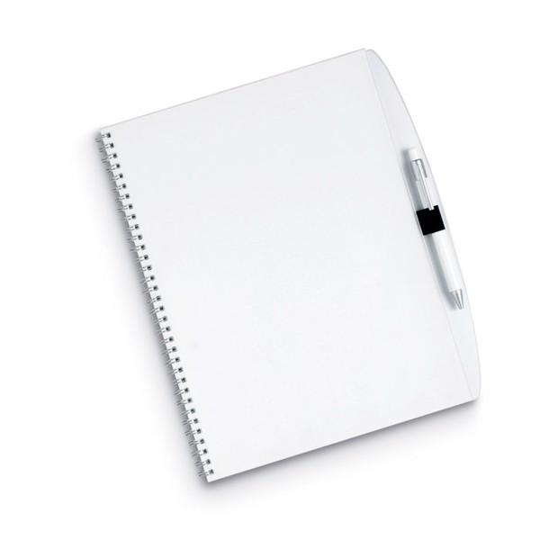 70-kartkowy blok A4, długopis Studious
