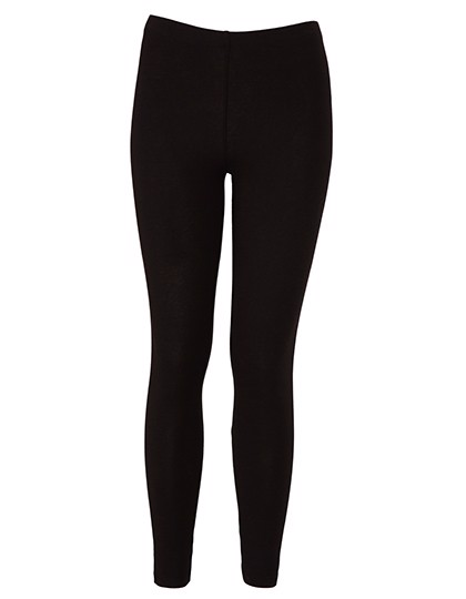 Women`S Cotton Stretch Legging - Black / S