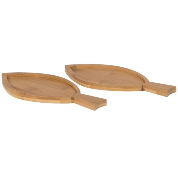 2dílná bambusová sada Anna ve tvaru ryby