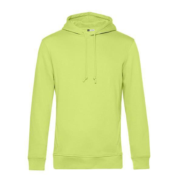Organic Hooded - Lime / 3XL