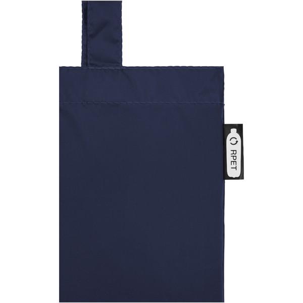 """Bolsa Tote de PET reciclado """"Sai"""" - Azul marino"""