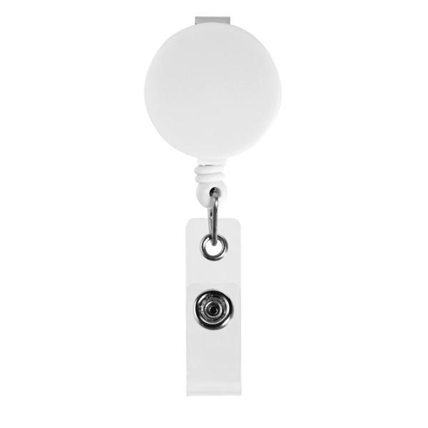 Lech roller clip - White