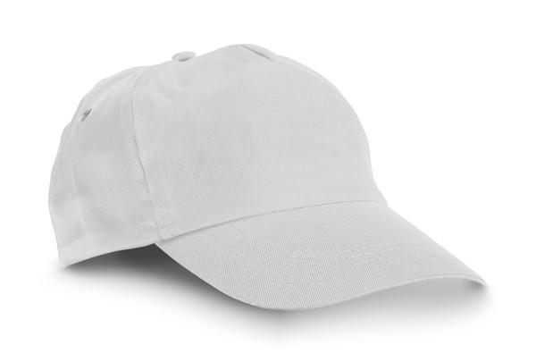 CAMPBEL. Kšiltovka - Bílá