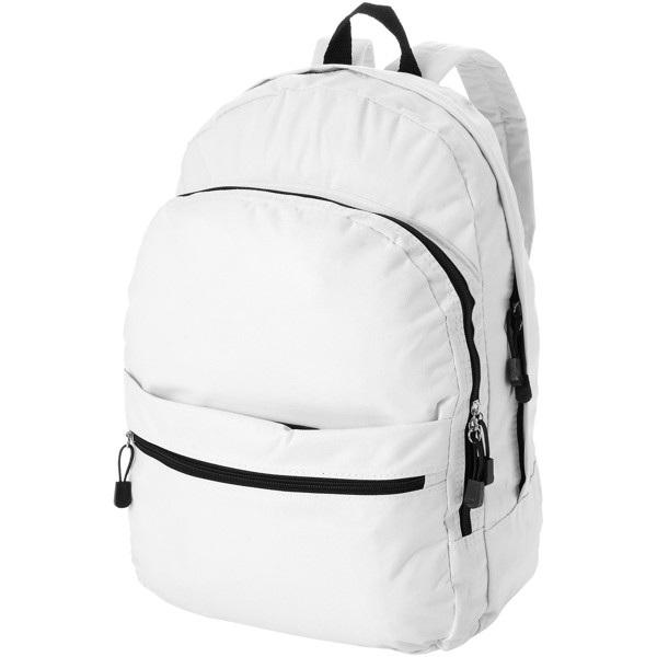 Trend 4-compartment backpack - White