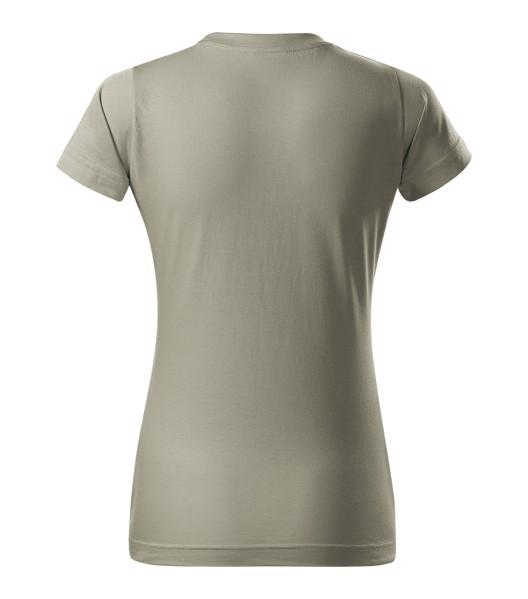 Tričko dámské Malfini Basic - Světlá Khaki / L