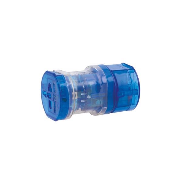 Adaptador Enchufes Universal - Azul