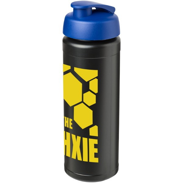 Sportovní láhev s vyklápěcím víčkem Baseline® Plus grip 750 ml - Modrá