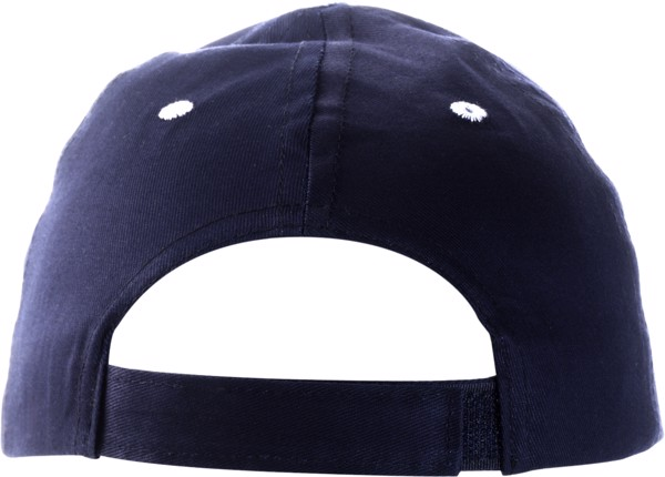 Cotton twill cap - Blue