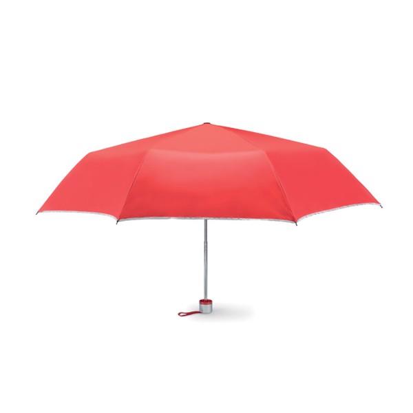 Foldable umbrella Cardif - Red