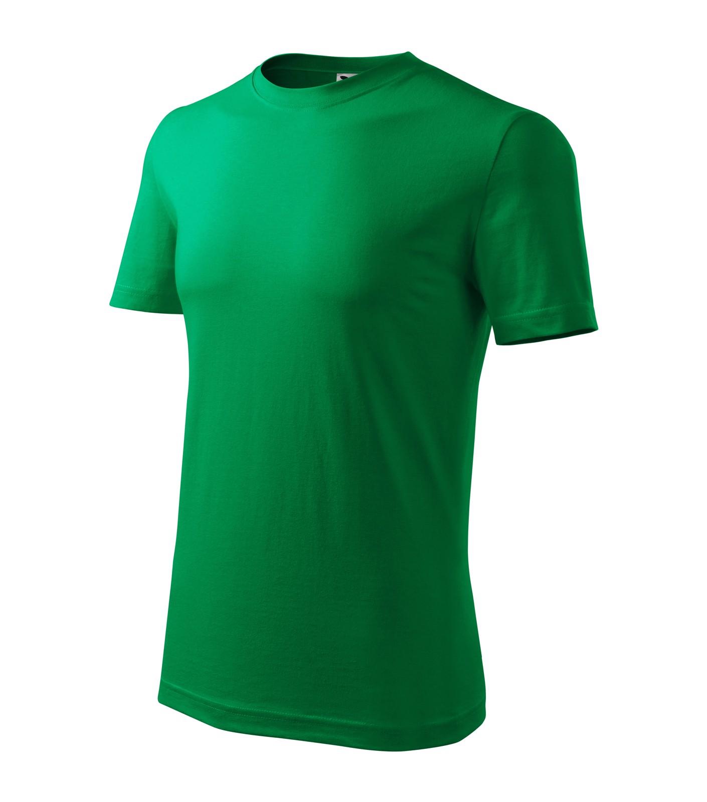Tričko pánské Malfini Classic New - Středně Zelená / L