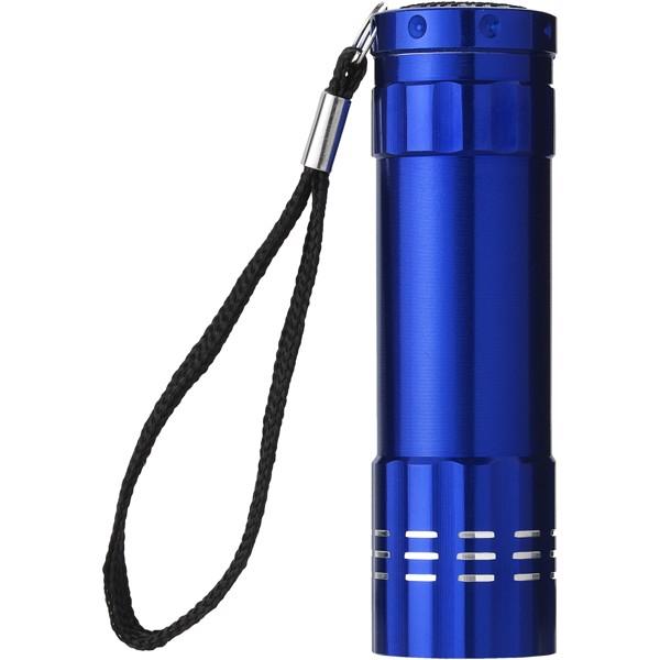 Svítilna Leonis s 9 LED - Modrá