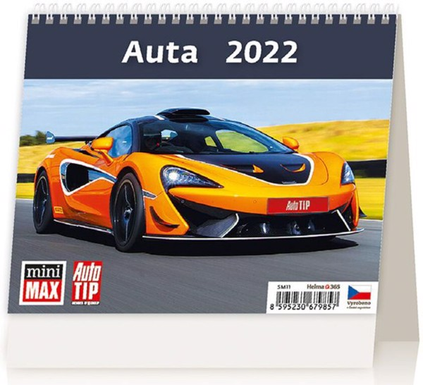 Týdenní kalendář Auta 2022