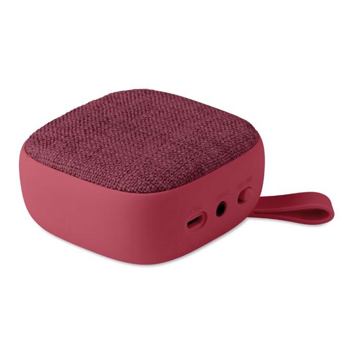 Square Wireless Speaker Rock - Burgundy