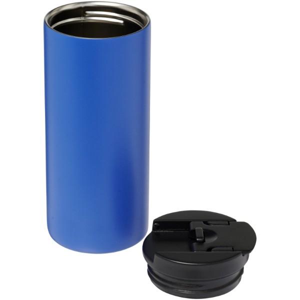Kubek Lebou izolowany próżniowo powlekany miedzią o pojemności 360 ml - Błękit Królewski