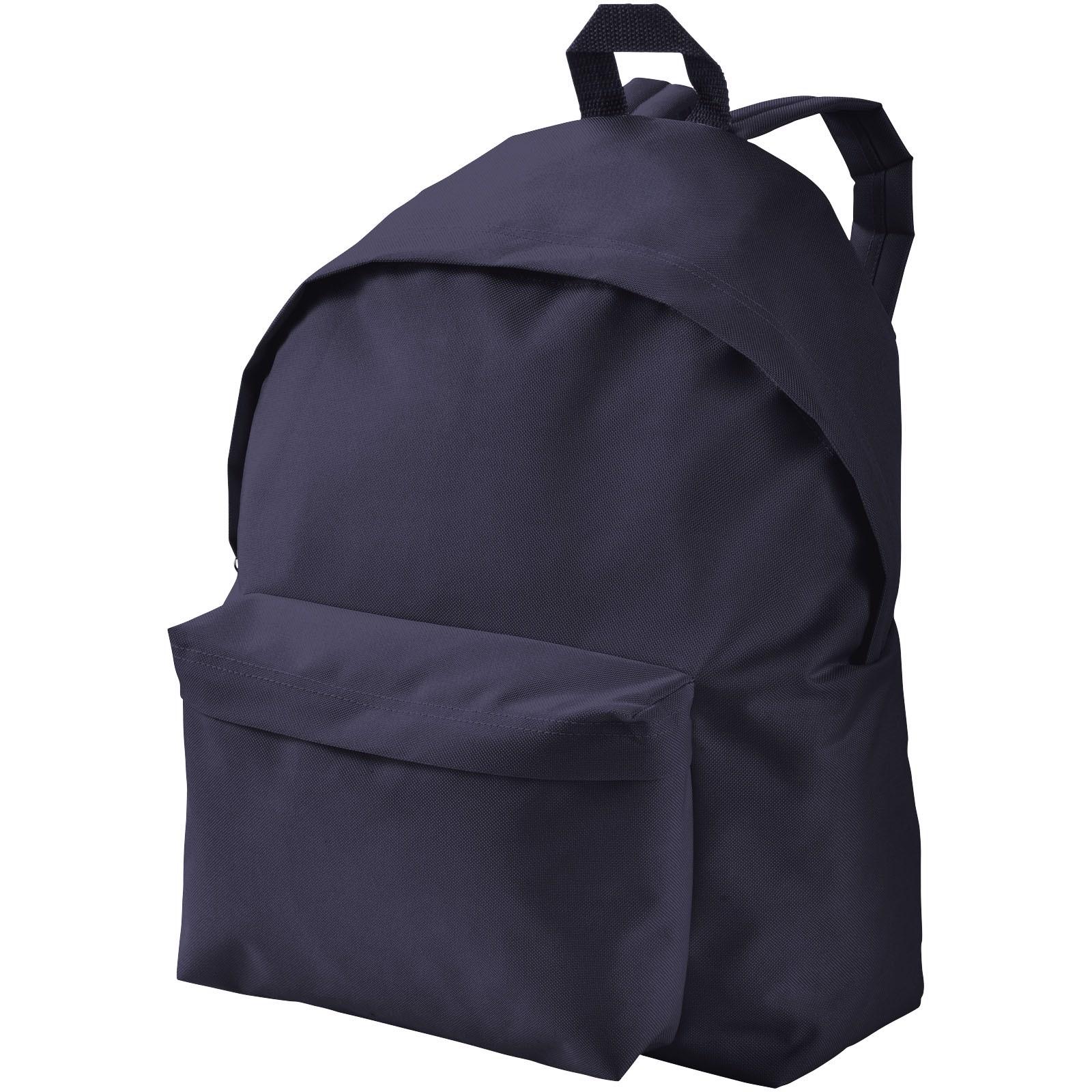 Urban covered zipper backpack - Navy