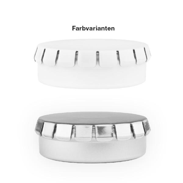 Quick Box Dose, Traubenzucker Quadratisch - Weiß / Traubenzucker Quadratisch