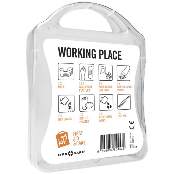 MyKit Workplace First Aid Kit - White