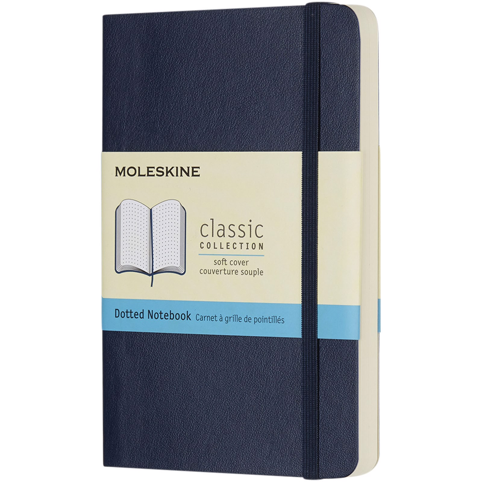 Classic Softcover Notizbuch Tachenformat – gepunktet - Saphir