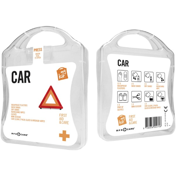 MyKit Coche Kit de primeros auxilios - Blanco