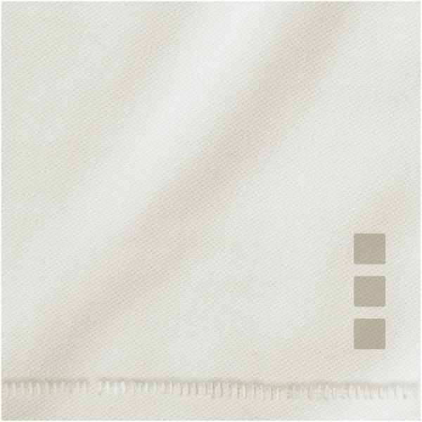 Calgary short sleeve men's polo - Light grey / XS