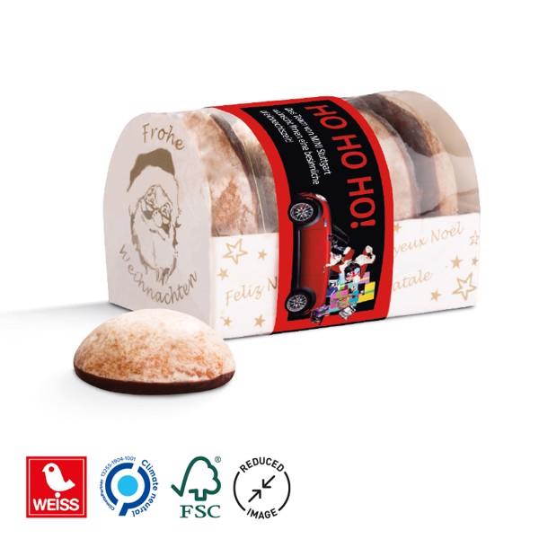 Lebkuchen Mini 4er mit Banderole