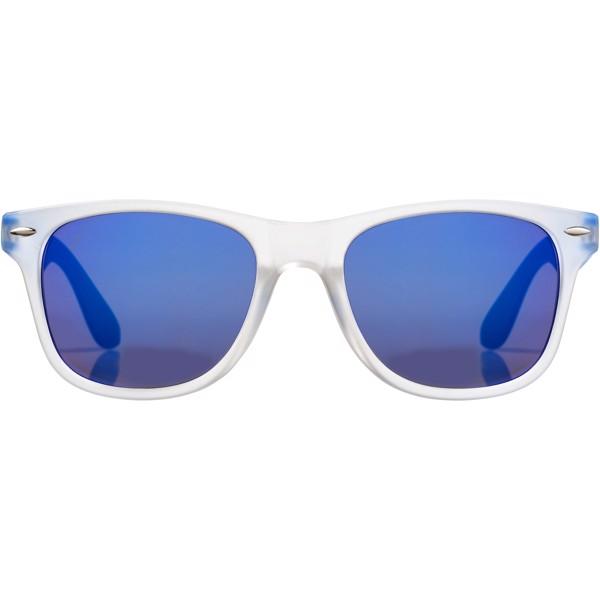 Sluneční brýle California s exkluzivním designem - Modrá / Průhledná