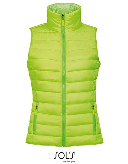 Women`S Lightweight Bodywarmer Wave - Neon Lime / S