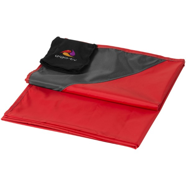 "Manta impermeable para picnic ""Stow and Go"" - Rojo"
