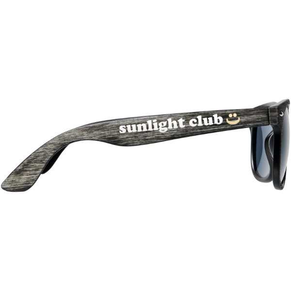 Sun Ray sunglasses with heathered finish - Heather grey