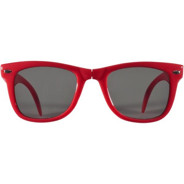 Skládací sluneční brýle SunRay - Červená s efektem námrazy