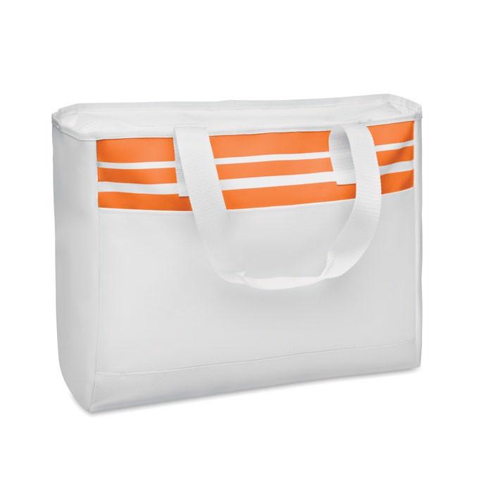Tote Bag in 600D polyester Tarawa - Orange