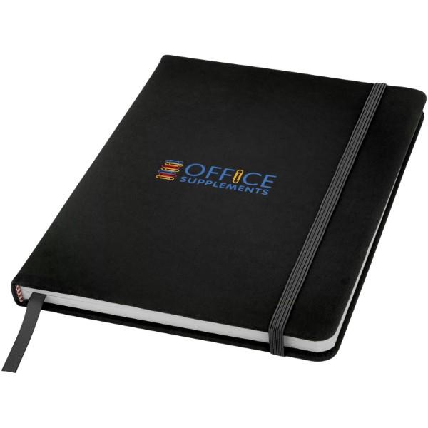 Zápisník A5 Spectrum – tečkované stránky - Černá