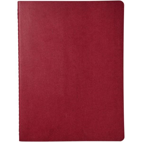 Cahier Journal XL - plain - Cranberry red