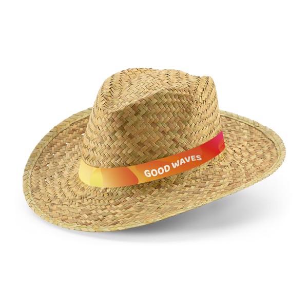 JEAN. Přírodní slaměný klobouk