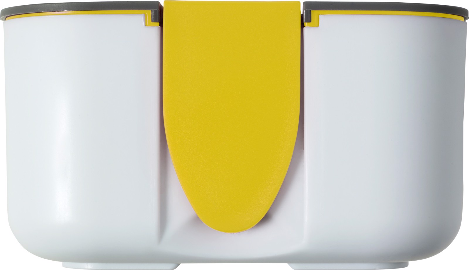 PP and silicone lunchbox - Yellow