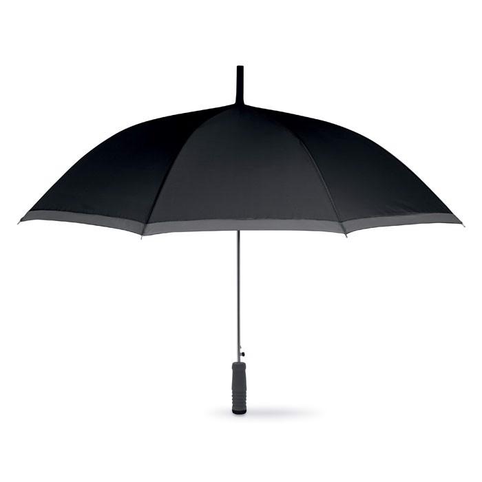 Deštník s EVA rukojetí Cardiff - black