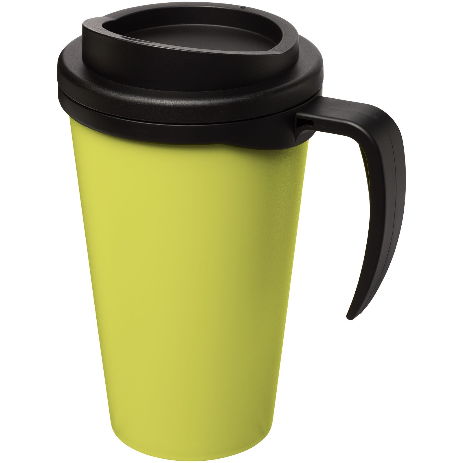 Americano® Vaso térmico grande de 350 ml - Lima / Negro intenso