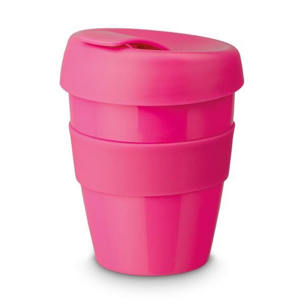 TUMBLER. Travel cup - Ροζ