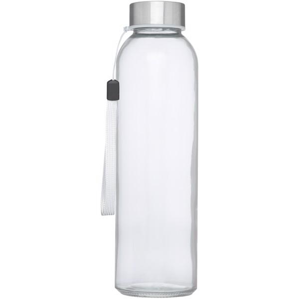 Bodhi 500ml skleněná sportovní láhev - Bílá