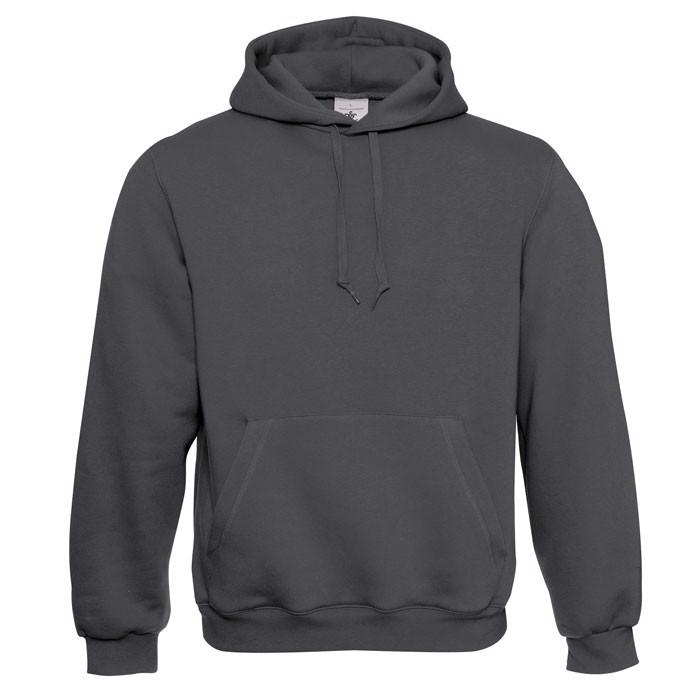 Kapuzen-Sweatshirt Hooded - Grey Steel/Antracide / XXL