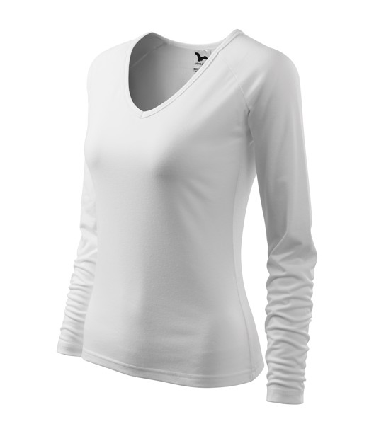 T-shirt Ladies Malfini Elegance - White / 3XL