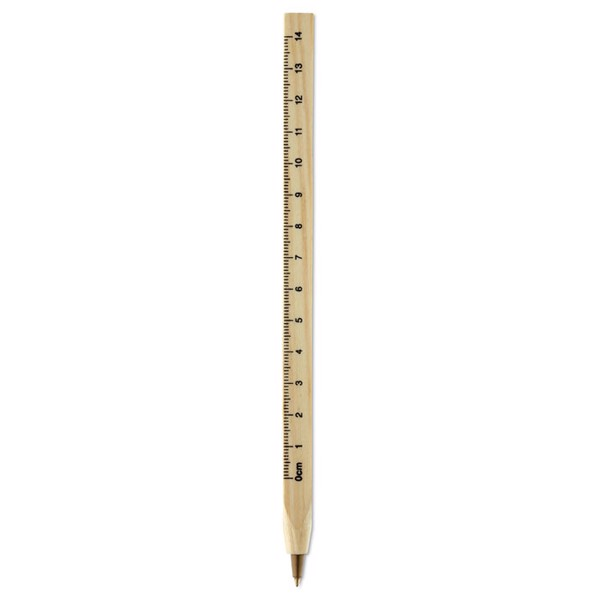 Wooden ruler pen Woodave