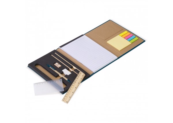 14 pieces stationery set - Dark Blue