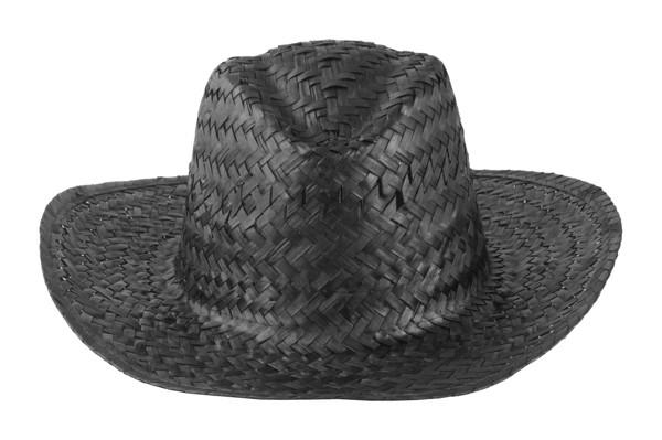 Straw Hat Splash - Black