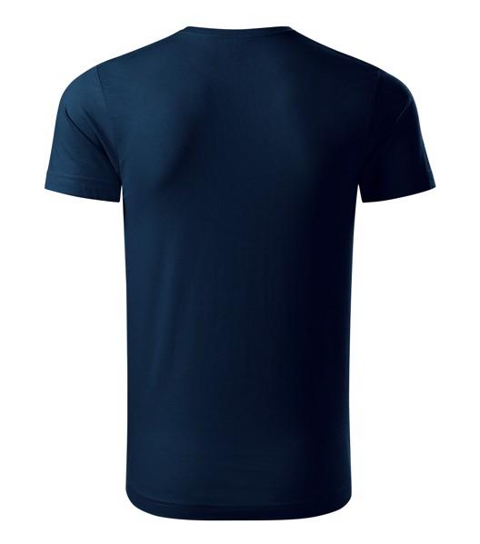 Tričko pánské Malfini Origin - Námořní Modrá / S